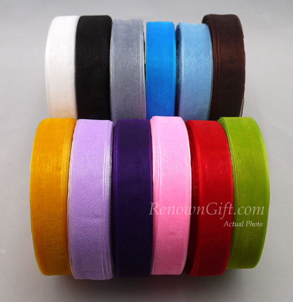 organza ribbon 20mm