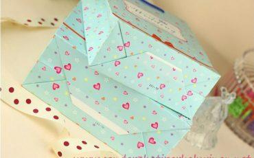 paperbag blue