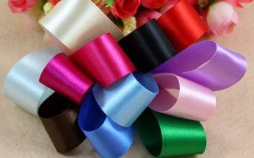 satin ribbons flowers