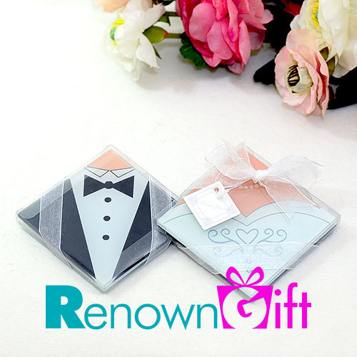 tux gown coaster