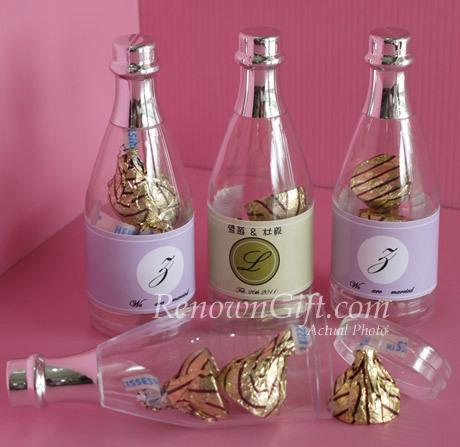 wedding favor bottle
