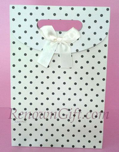 white paper bag