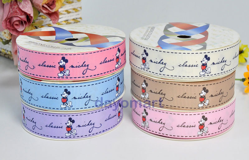 mickey mouse ribbons