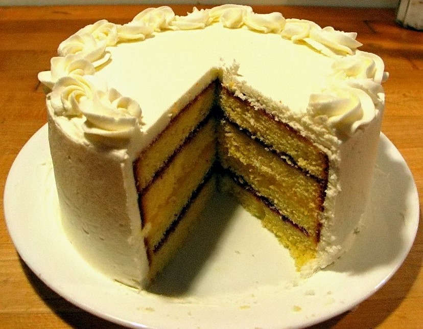 Pound layer cake