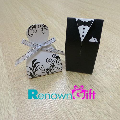 bride groom box