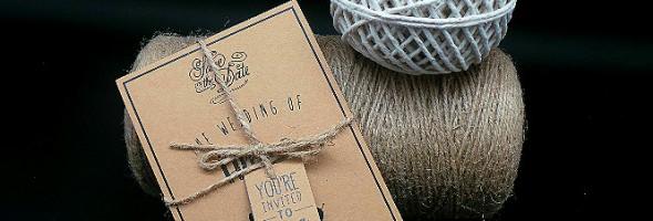 The Knot Invitation Card