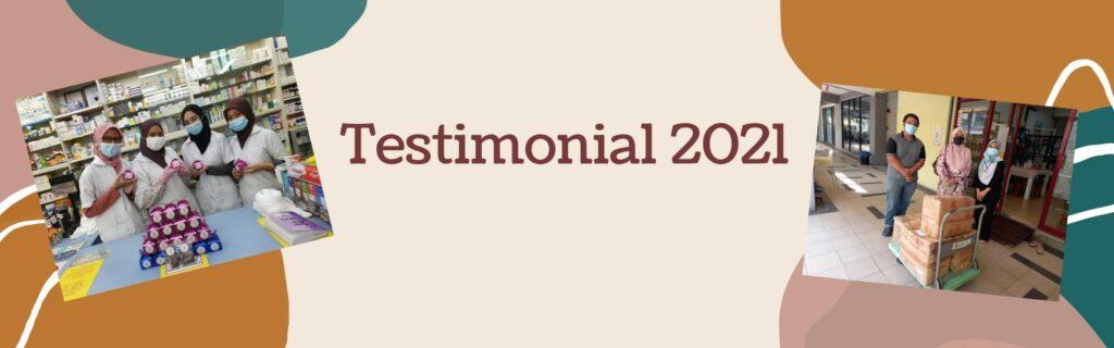 Testimonial 2021